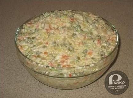 Tradycyjna Salatka Warzywna sa Atka Warzywna