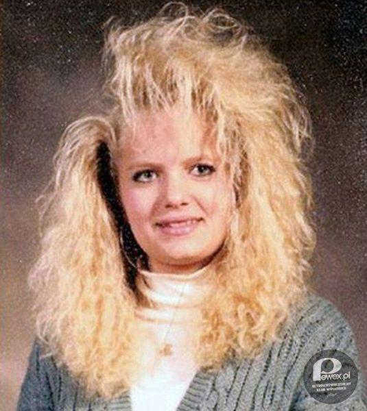 Fryzury z lat 80