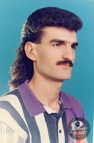 Hair Style Questions : Modny m??czyzna PRL-u