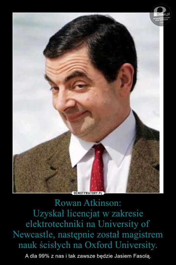 Tekst piosenki Rowan Atkinson