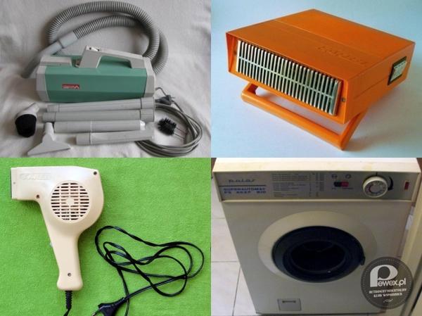Sprzęt z czasów PRL – były niezniszczalne i wszystkie produkowane w Polsce