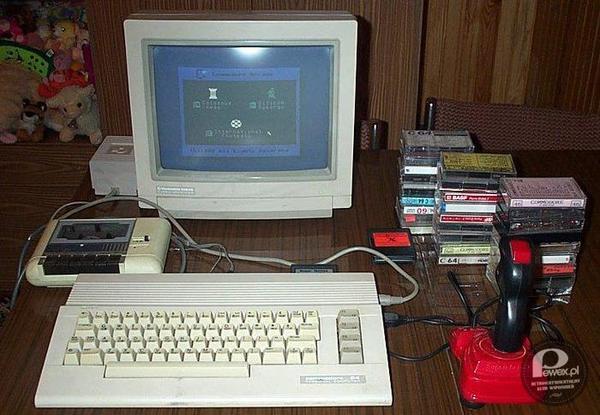 Commodore 64 – Zestaw marzeń każdego nastolatka w latach 80-tych.